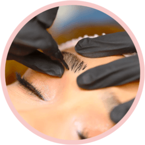 Procedimento microblading Flow Brows