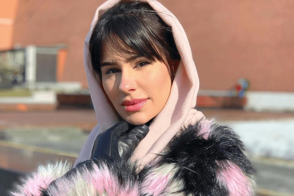 Natalia aprendendo novas técnicas na Rússia